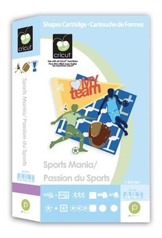 Sports Mania Cricut® Cartridge