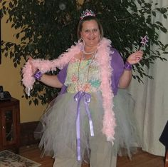 Fancy Nancy costume for children's book character dress up day