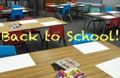 First Day of School advice for the art room