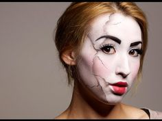 Cracked Doll Makeup Tutorial   clittlecosmetics