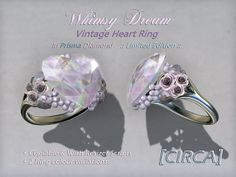 Whimsy Dream - Vintage Heart Ring - Prisma Diamond (Limited Edition) | Flickr - Photo Sharing!