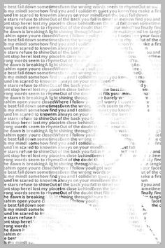 create a photo portrait with words
