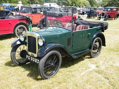 AE Tourer - this car fitted with the later style wings used at the end of production of this rare model.