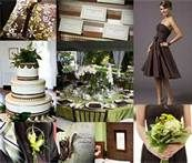 I love the color mint green and brown but it is so hard to find it in a wedding theme