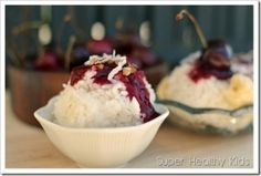 Rice Dream Sundaes | Healthy Ideas for Kids