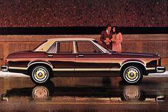 1976 Ford Granada Ghia 4-Door Sedan