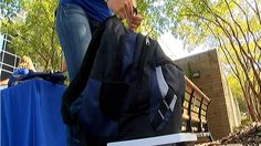 Heavy backpacks cause injuries in children (WECT-TV, NBC 6, Wilmington, NC)