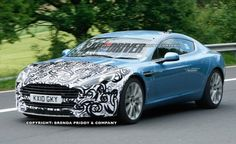 2013 Aston Martin Rapide spy photo