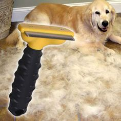 Solutions - FURminator® deShedding Tool. I highly recommend!
