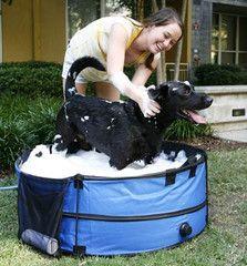 ABO Gear Dirty Dog Portable Dog Bathtub