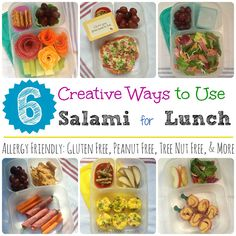 Lunch Made Easy: 6 Ways to use Salami for School Lunches