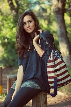 Love the stars and stripe bag