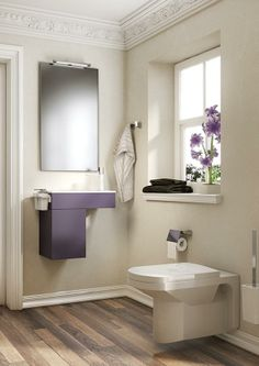consider integrating the 2014 #Pantone color of the year, radiant orchid, into your home sanctuary