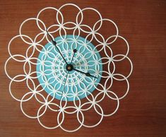 upcycled clock, #clock