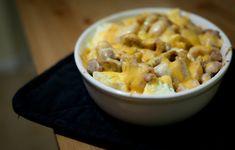 low carb chicken and cauliflower casserole