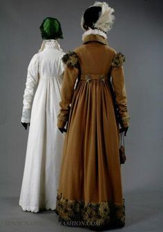 "Beautiful pelisse coats from the exhibition ""Napoleon and the Empire of Fashion"" (http://ow.ly/fhEVh )"
