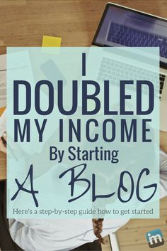 I started a blog four years ago using a guide just like this. I started making money in just 3 months and now I'm a full-time blogger. This guide is bigger and better than what I used to get started, so don't wait anymore!
