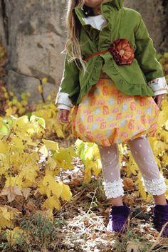ruffl jacket, skirts, girl coutur, pretti girl, jackets, bubbles, gingers, bubbl skirt, mustard yellow