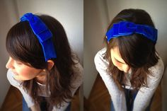 Join the Mood: HEADBAND BOW / DIADEMA DE LAZO