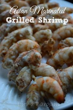 Aisan Marinated Grilled Shrimp - Amazing flavor and so easy!  LuvaBargain.com