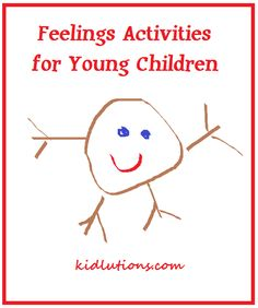 More than Half a Dozen Feelings Activities for Young Children #parenting #ece
