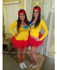 Sexy Tweedle Dee and Tweedle Dum Costumes on a Budget... Coolest Halloween Costume Contest