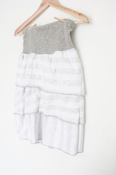 Simple Layered Summer Skirt // National Serger Month