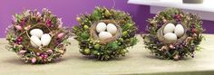 "RAZ 7"" Twig Nest with Eggs  #raz #trendytree #easter"