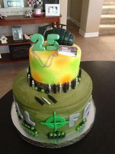 Call of Duty Happy Birthday Cake
