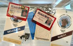 Passes to the Republican National Convention.
