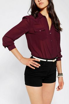 Chiffon Blouse (obviously not the shorts)