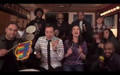 """Idina Menzel Slays """"Let It Go"""" (With Classroom Instruments!) On """"The Tonight Show"""""""