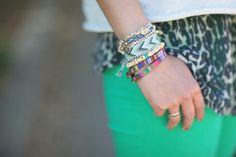 Mix of bracelets