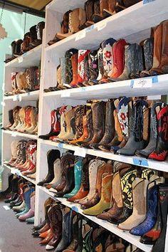 Cowboy Boots make my heart happy....