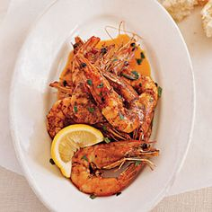 Fresh Gulf Shrimp with Barbecue Butter Recipe on Yummly