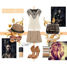 """""""Tribal Chic"""" by kekek on Polyvore #outfit #look #style"""