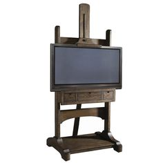 {Melene Entertainment Stand} ok, this is kinda cool - looks like an antique artist easel!