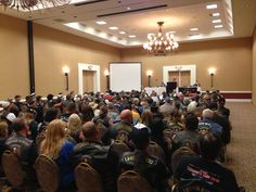 American Legion Riders at the state convention.