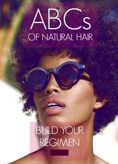 ABCs of Natural Hair // Build Your Natural Hair Regimen
