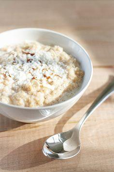 Cardamom & Coconut Semolina Porridge