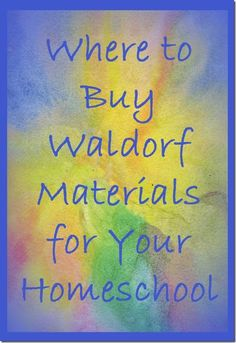 Where to Buy Waldorf