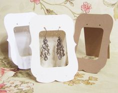earring tags - Google Search