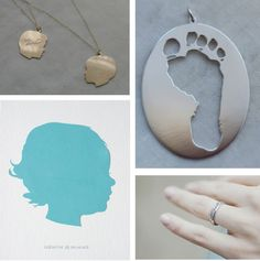 Push Present ideas - love love love the necklace!