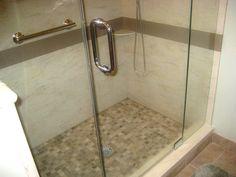 corian shower