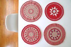 Amazing placemats by MI MITRIKA