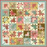 Maple Stars by Diane Nagle by Robyn Pandolph---Free Pattern