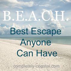 Escape to the beach...