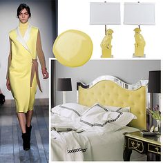 How to rock buttery yellow at home and in your wardrobe.