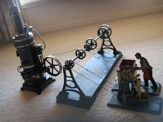 Steam engine-powered toys | Flickr - Photo Sharing!