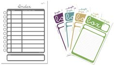 printables for moving and packing